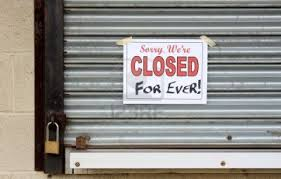 closed for ever